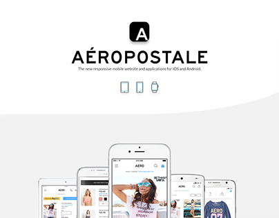 Aeropostale Mobile Site & Application