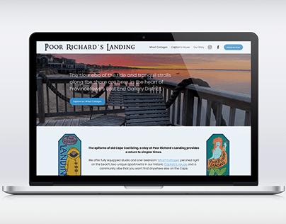 Website Design for Poor Richard's Landing
