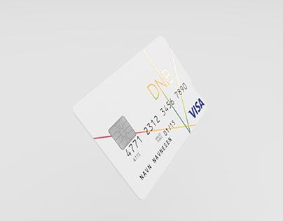 DNB NEON CARD