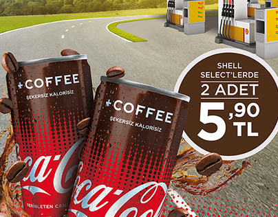 """Coca-Cola +Coffee & Shell """"Crossroads"""""""