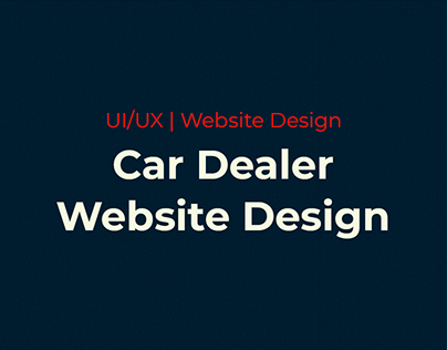 Sai Service - Car Dealer Website Design