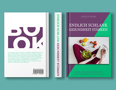 Nutrition and Health Book Cover Designs.