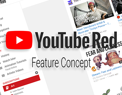 YouTube Red Collection Feature - Concept