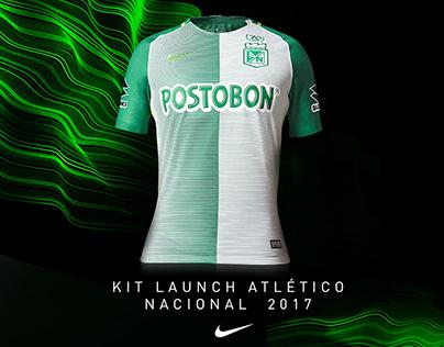 Nike Lanzamiento Camiseta Atlético Nacional