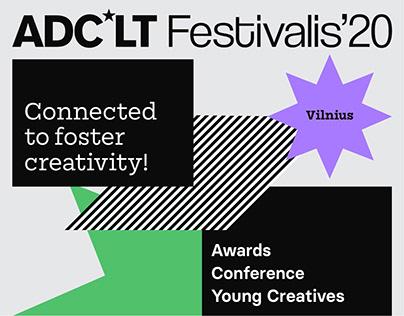 ADC*LT festival branding
