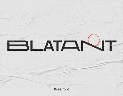 Blatant - Free font