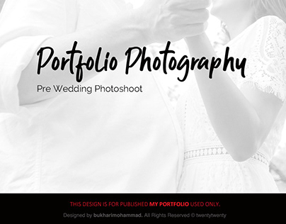 Photography-Pre Wedding