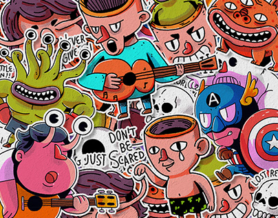 Character Design Vol.2 Daniel Johnston Edition