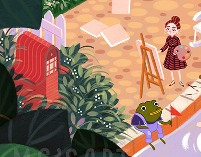 Lina and the Frog