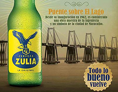 Cerveza Zulia Puente de Maracaibo