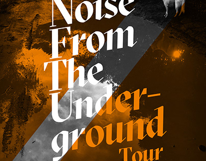 Noise From The Underground – Mini Tour Poster