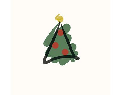 Christmas Tree - Illustrator