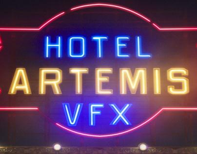 Hotel Artemis VFX