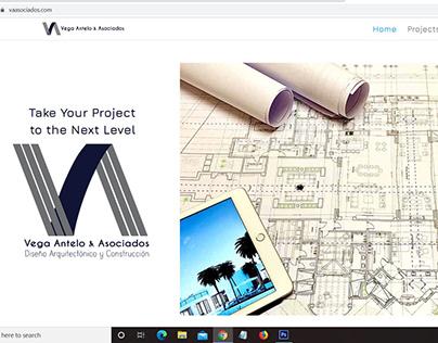 Diseño de sitio web, Vega Antelo & Asociados