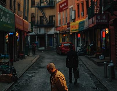 Dusk in Chinatown