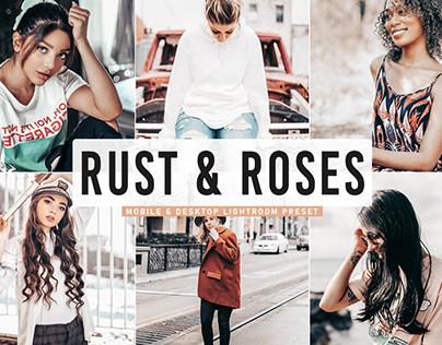 Free Rust & Roses Mobile & Desktop Lightroom Preset