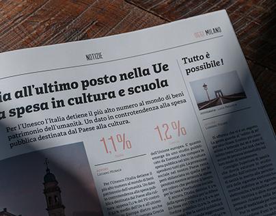 Oggi Milano Newspaper