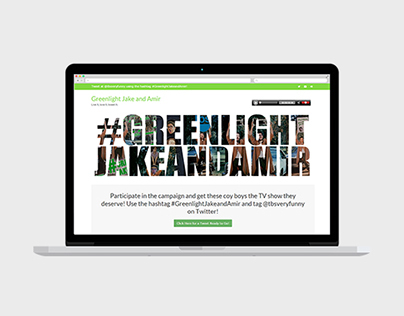 Greenlight Jake and Amir Campaign