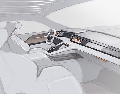 Automotive Sketches - Exterior & Interior (2020)