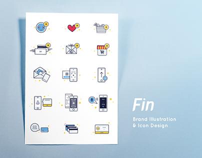 Brand Illustration : Fin.my