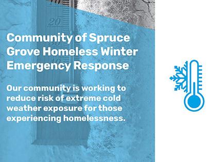 Homeless Winter Emergency Response Brochure