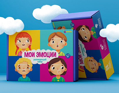 MY EMOTIONS. Educational set for kids
