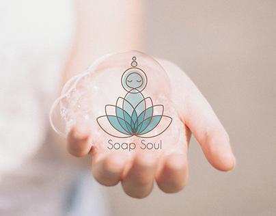 """""""Soap Soul"""" logo design for handmade soap"""