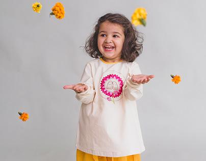Ethnic kidswear- Pichhwai collection