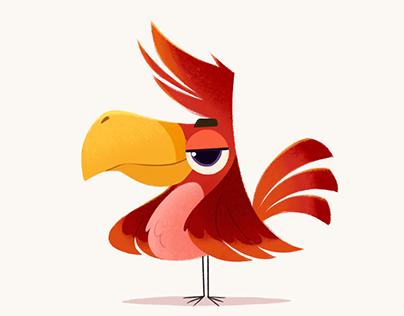 Character designs - Birds