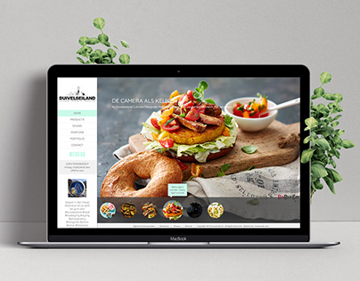 Website design for Goeiezaak as interim Visual Designer