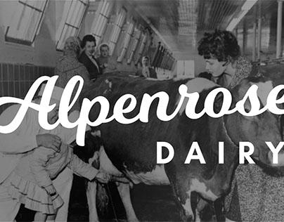 Alpenrose Dairy Rebrand
