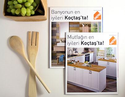 Koçtaş Banyo+Mutfak Katalog Tasarımı - 2014