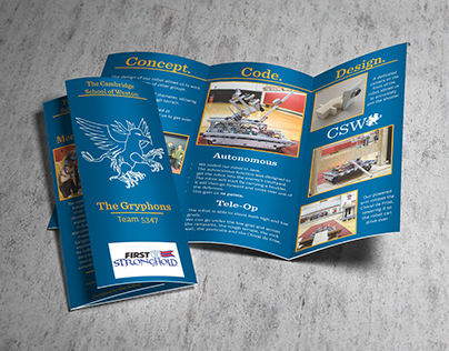 FRC Stronghold Brochure - Team 5347