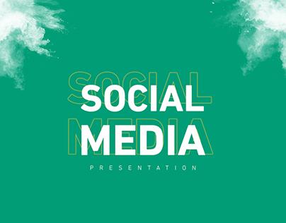 Social Media Designs Presentation