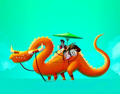 Character Design Challenge - Dragons