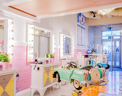 Czuprynki - hairdresser for kids