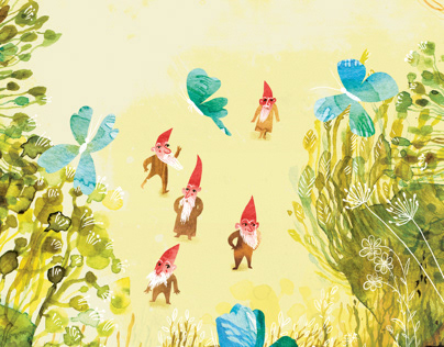 Gnomes and butterflies
