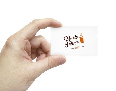 Uncle John's logo design