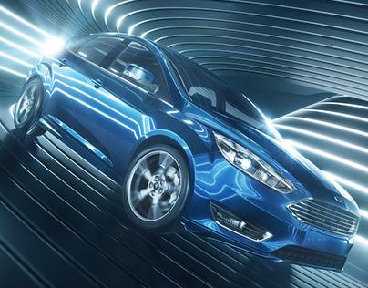 Ford Focus CGI