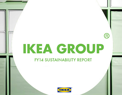 IKEA Group Sustainability Report FY14 Redesign