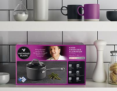 Raymond Blanc Cookware Packaging