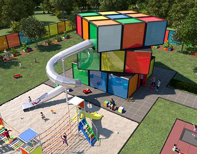 Rubiks Cube Kindergarten