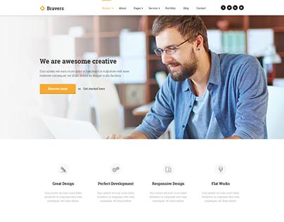 Bravers - Multipurpose HTML5 Template