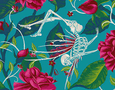 Death of Summer - fashion print