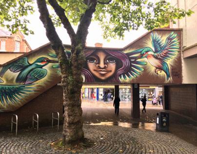 Blackburn Open Walls Festival 2016,2017 & 2018
