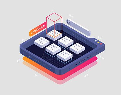 Isometric Illustration october 2020