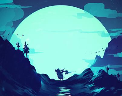 Moon Paintings