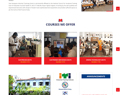 Website for SN ITI