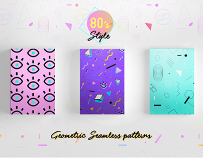 80's style pattern pack