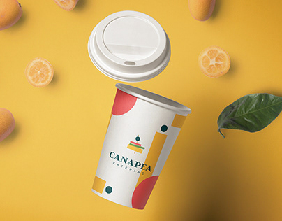 Canapea Catering Branding